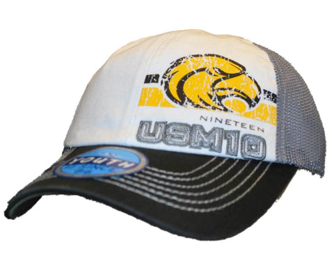Shop Southern Miss Golden Eagles Top of the World Youth Black Mesh Snapback Hat Cap - Sporting Up