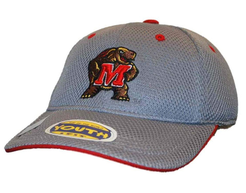 Shop Maryland Terrapins Top of the World Youth Gray Performance Flex One Fit Hat Cap