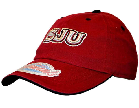 Shop Saint Joseph's Hawks Top of the World Women Red Bling Adjustable Slouch Hat Cap
