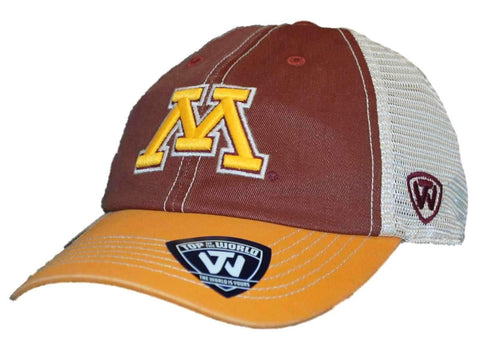 Shop Minnesota Golden Gophers Top of the World Red Offroad Adjust Snapback Hat Cap
