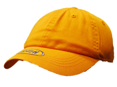 Shop Top of the World Youth Gold Adjustable Strap Hat Cap - Sporting Up