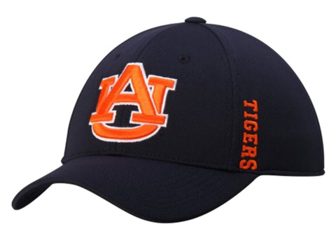 Shop Auburn Tigers Top of the World Navy Booster Memory Flexfit Golf Hat Cap (M/L)