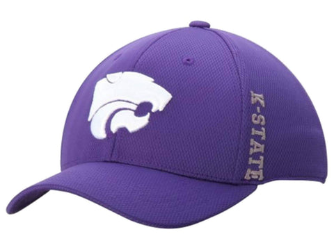 Shop Kansas State Wildcats Top of the World Purple Booster Memory Flex Hat Cap (M/L) - Sporting Up