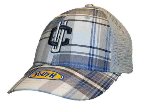 Shop Connecticut Huskies Top of the World Youth Gray Plaid Adjustable Hat Cap - Sporting Up