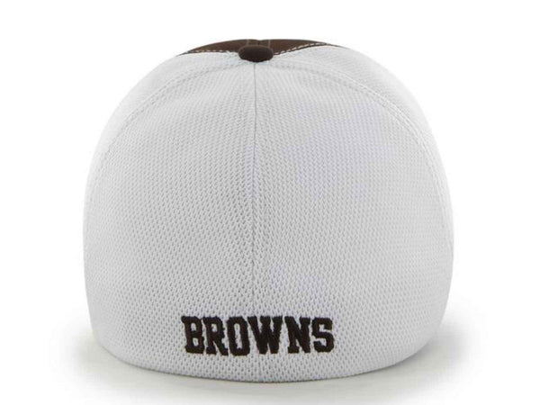 3cfa36f780980 Cleveland Browns 47 Brand Brown Draft Day Closer Performance Flexfit Hat Cap