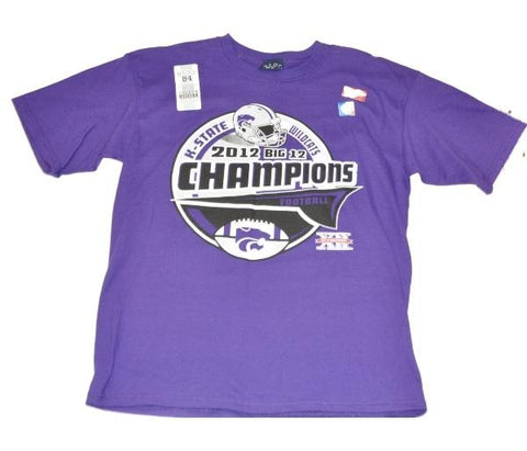 Shop Kansas State Wildcats Blue 84 2012 Big 12 Champions Locker Room Youth T-Shirt - Sporting Up