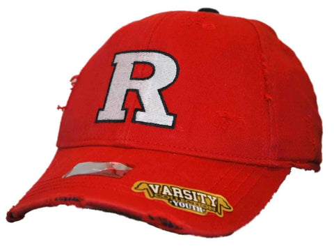 Shop Rutgers Scarlet Knights Top of the World Youth Red Tatter Flexfit Hat Cap - Sporting Up