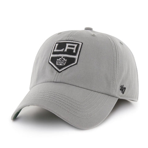 Shop Los Angeles Kings 47 Brand The Franchise Gray Fitted Hat Cap - Sporting Up
