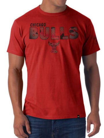 Shop Chicago Bulls 47 Brand Rebound Red Frozen Rope Soft Cotton Slim T-Shirt
