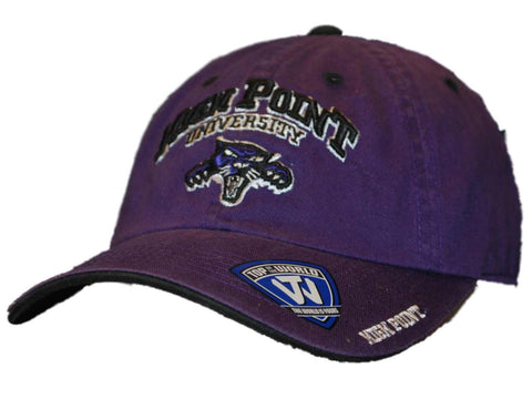 Shop High Point Panthers Top of the World Purple Slouch Adjustable Strap Hat Cap