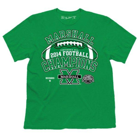 Shop Marshall Thundering Herd Official Locker Room 2014 C-USA Champs T-Shirt - Sporting Up