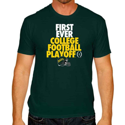 Shop Oregon Ducks Victory 2014 First Ever College Football Playoff T-Shirt