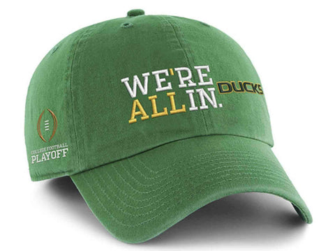 Shop Oregon Ducks 47 Brand College Football Playoff We're All In Adj Hat Cap