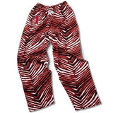 Arizona Diamondbacks ZUBAZ Red White Vintage Style Zebra Pants