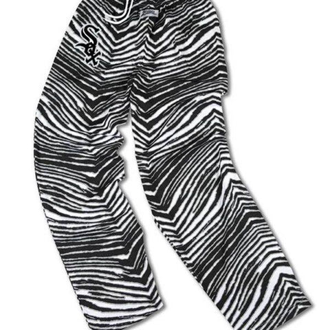 Shop Chicago White Sox ZUBAZ Black White Vintage Style Zebra Pants