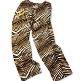 Pittsburgh Pirates ZUBAZ Gold Black White Vintage Style Zebra Pants