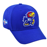 Kansas Jayhawks XI Straight Big 12 Conference Basketball Champs Hat Cap (M/L)