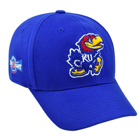 Shop Kansas Jayhawks XI Straight Big 12 Conference Basketball Champs Hat Cap (M/L)