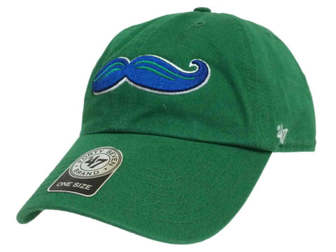 Shop Lexington Legends 47 Brand Kelly Green Moustache Logo Adjustable Slouch Hat Cap - Sporting Up