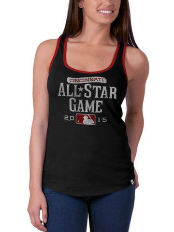 Shop 2015 MLB All-Star Game Cincinnati 47 Brand Women Black Racerback Tank Top
