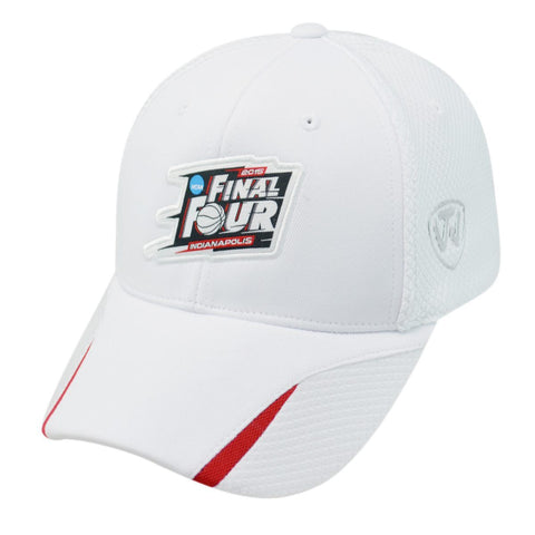 2015 Final Four Indianapolis Basketball Top of the World White One Fit Hat Cap