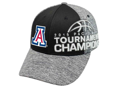 Shop Arizona Wildcats 2015 Pac-12 Tournament Bball Champs Locker Room Hat Cap - Sporting Up