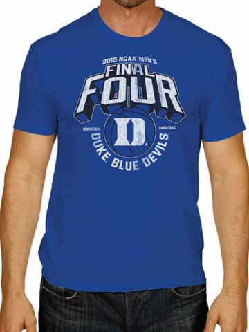 Duke Blue Devils Victory 2015 Indianapolis Final Four Basketball Blue T-Shirt