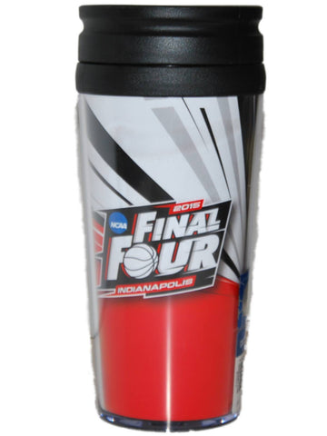 Shop 2015 Final Four Indianapolis Boelter Brand Red Black 16 oz. Contour Travel Mug - Sporting Up