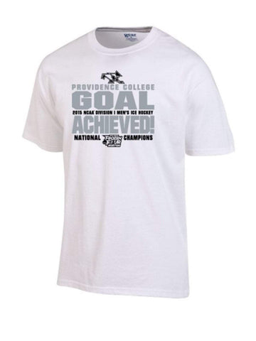 Shop Providence Friars 2015 Hockey Frozen Four National Champions Locker Room T-Shirt - Sporting Up