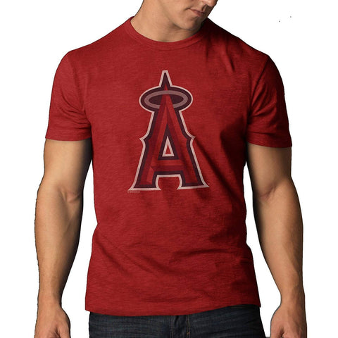 Los Angeles Angels of Anaheim 47 Brand Rescue Red Cotton Scrum T-Shirt - Sporting Up