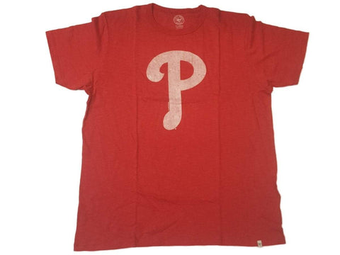 Philadelphia Phillies 47 Brand Rescue Red Soft Cotton Scrum T-Shirt