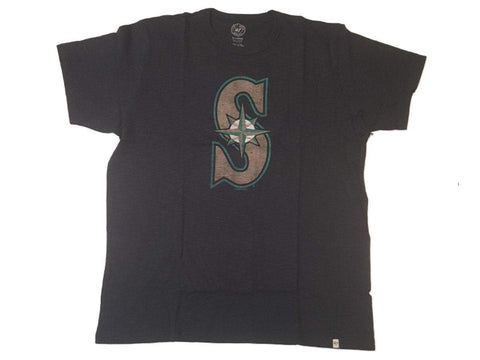 Shop Seattle Mariners 47 Brand Fall Navy Soft Cotton Scrum T-Shirt - Sporting Up