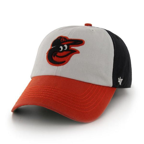 Shop Baltimore Orioles 47 Brand Franchise  Orange White Navy Home Logo Hat Cap