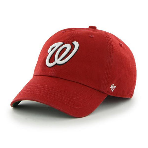 Washington Nationals 47 Brand Franchise Red White W Home Logo Hat Cap - Sporting Up