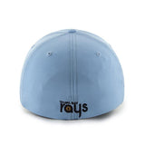 Tampa Bay Rays 47 Brand Light Blue Game Time Closer Flexfit Hat Cap - Sporting Up