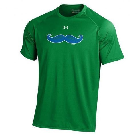 Shop Lexington Legends Under Armour Youth HeatGear Performance Moustache Logo T-Shirt