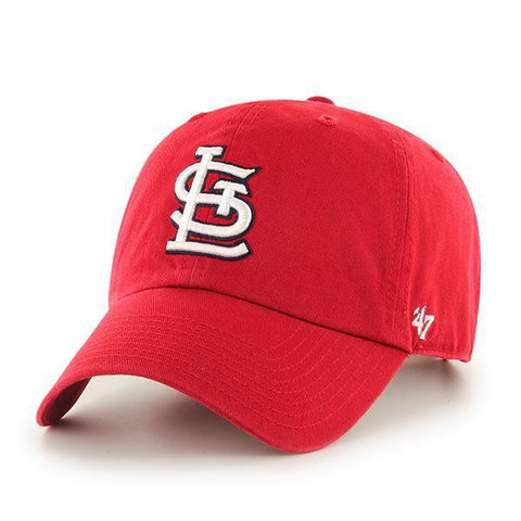 Shop St. Louis Cardinals 47 Brand Red Home Clean Up Adjustable Slouch Hat Cap