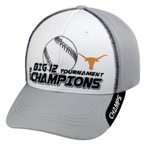Shop Texas Longhorns 2015 Big 12 Baseball Tournament Champions Locker Room Hat Cap