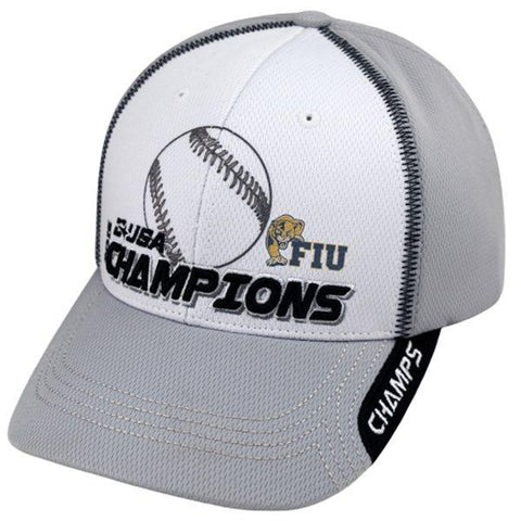 FIU Panthers 2015 C-USA Baseball Tournament Champions Locker Room Hat Cap - Sporting Up