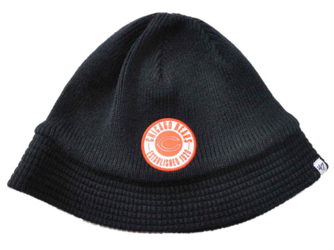 Shop Chicago Bears 47 Brand Women Navy Est. 1920 Knit Beanie Bucket Hat Cap