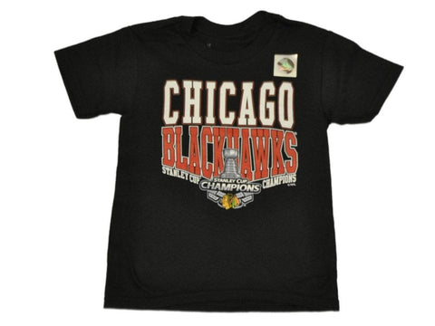 Chicago Blackhawks 2015 Stanley Cup Champs Youth SAAG Trophy T-Shirt