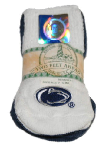 Shop Penn State Nittany Lions Two Feet Ahead Infant Baby Newborn 3 Pair Socks Pack