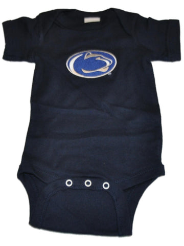 Shop Penn State Nittany Lions TFA Infant Baby Lap Shoulder Navy One Piece Outfit - Sporting Up