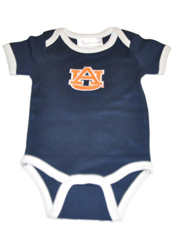 Shop Auburn Tigers TFA Infant Baby Lap Shoulder Ringer Romper One Piece Outfit