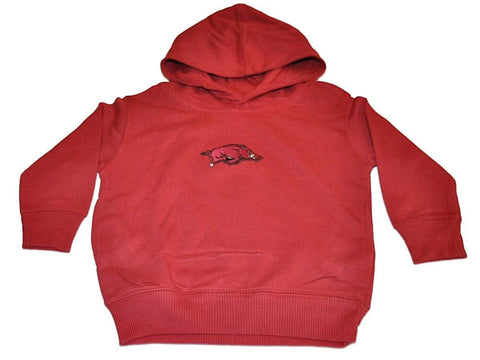Shop Arkansas Razorbacks TFA Toddler Crimson Fleece Hoodie Sweatshirt - Sporting Up