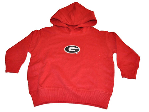 Shop Georgia Bulldogs Two Feet Ahead Toddler Red Fleece Hoodie Sweatshirt
