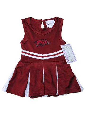 Shop Arkansas Razorbacks TFA Youth Baby Toddler Dress Up Cheerleading Outfit