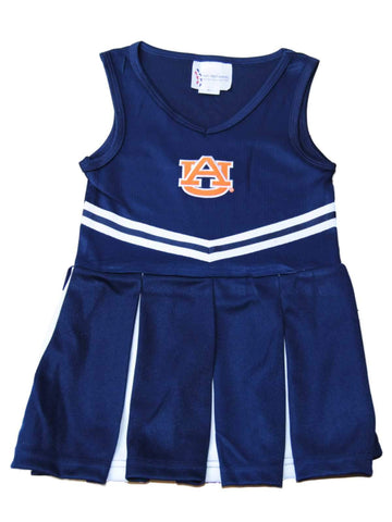 Shop Auburn Tigers TFA Youth Baby Toddler Navy Dress Up Cheerleading Outfit
