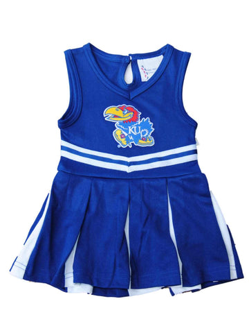 Shop Kansas Jayhawks TFA Youth Baby Toddler Blue Dress Up Cheerleading Outfit - Sporting Up