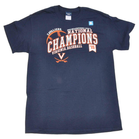 Shop Virginia Cavaliers 2015 CWS College World Series National Champs Blue 84 T-Shirt